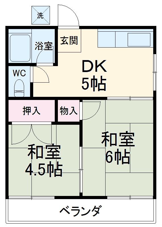 佐藤アパート 201号室の間取り