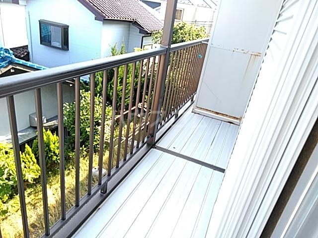 佐藤アパート 201号室のバルコニー