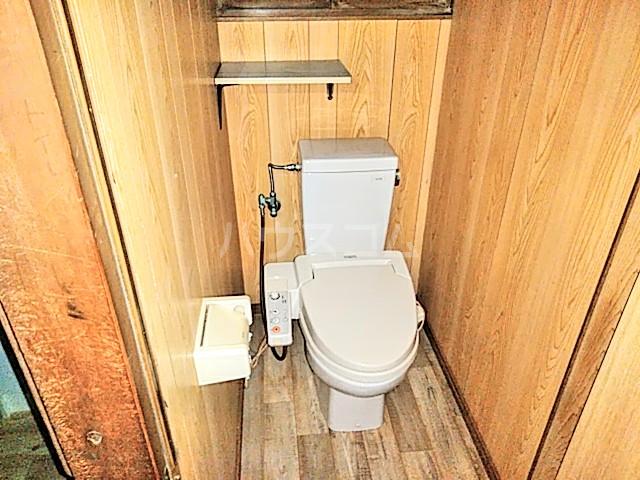 ガーデンハウス浦上台のトイレ