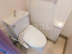 ナヴィール北久里浜 5002号室のトイレ