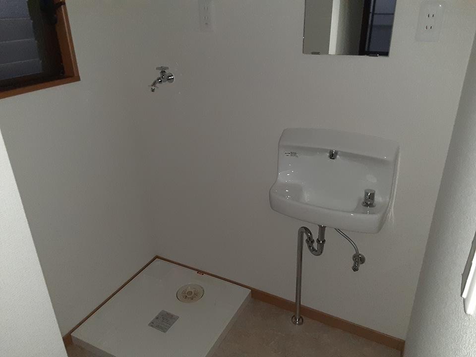 滝田荘 202号室のバルコニー