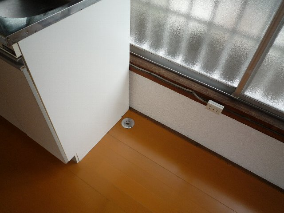 滝田荘 202号室の洗面所