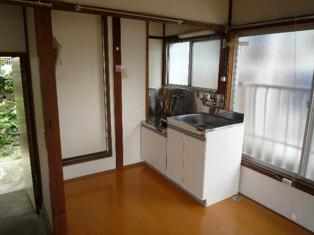 滝田荘 202号室のキッチン