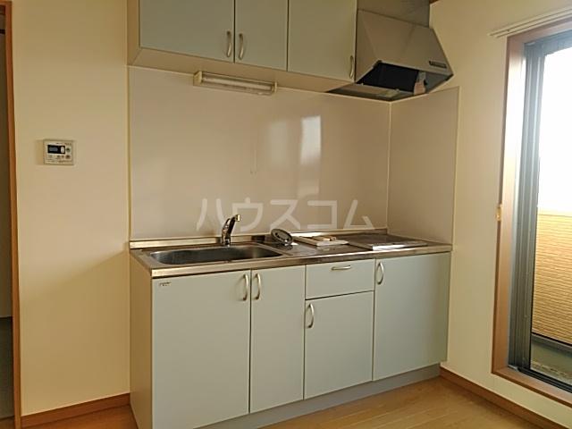 大津町A棟 2号室のキッチン