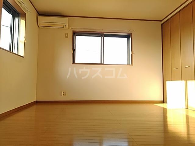 大津町A棟 2号室のベッドルーム