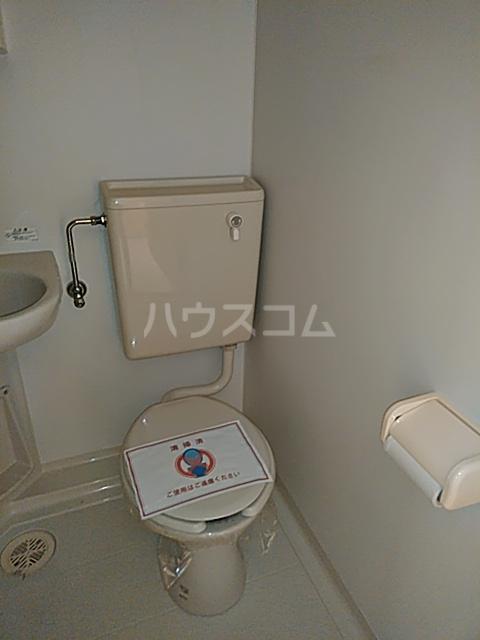大津町A棟 2号室のトイレ
