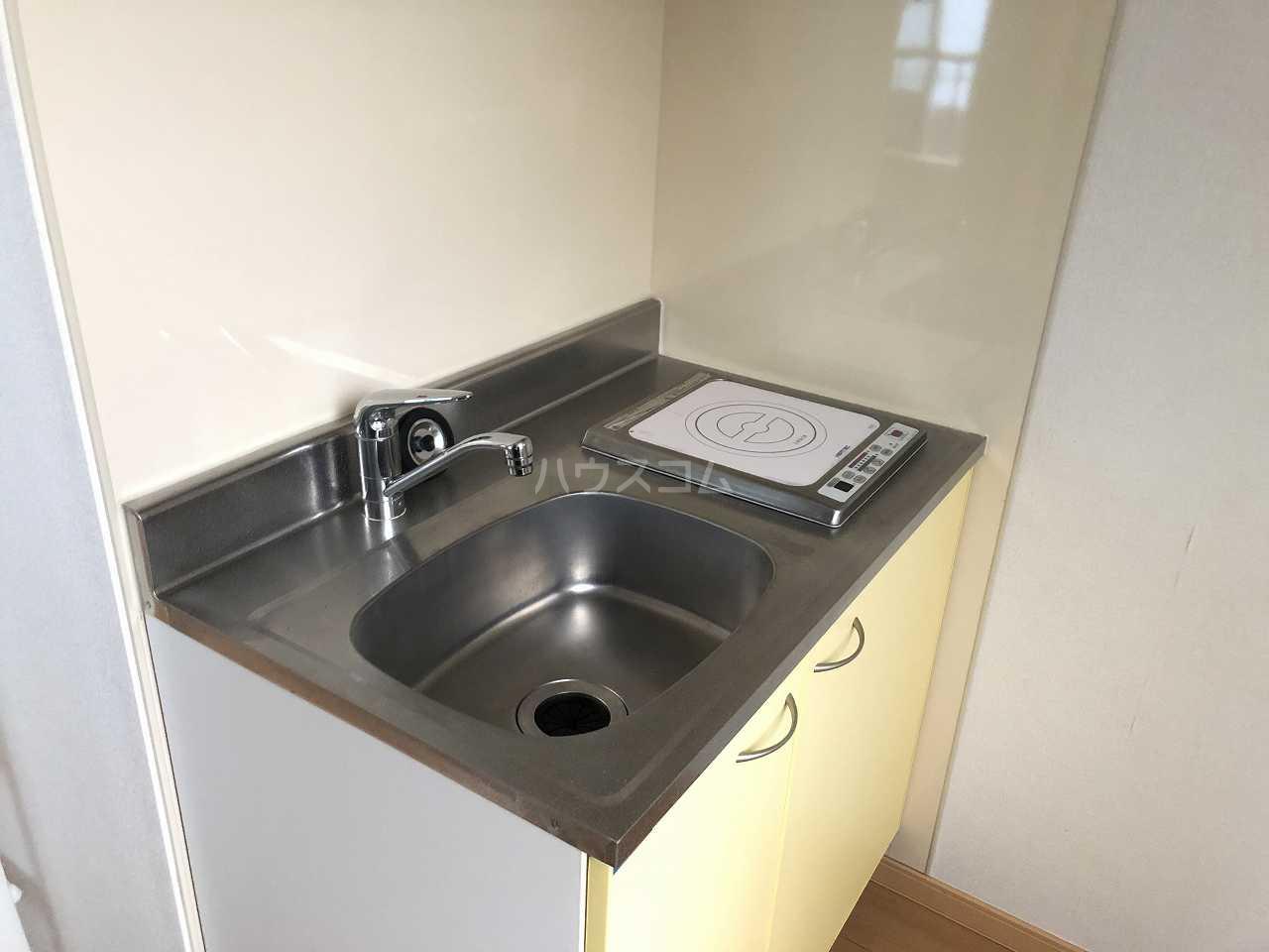 プレシャス汐入 202号室のキッチン