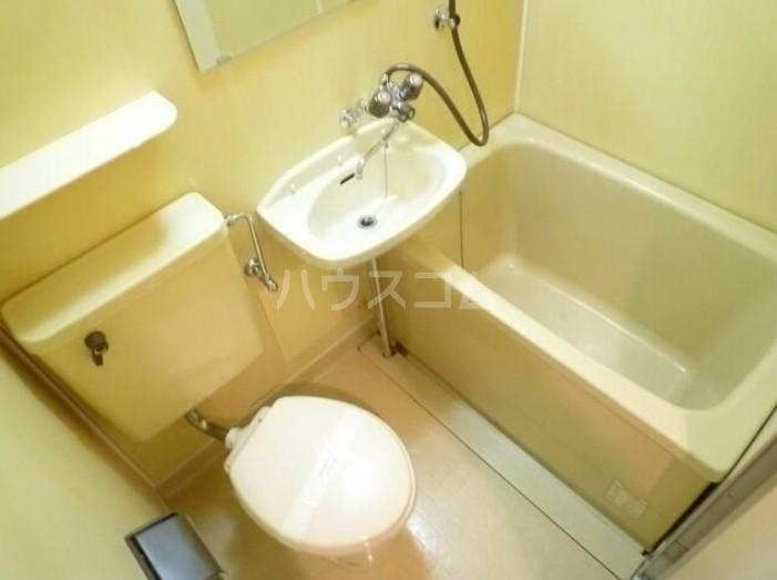 サンヨーズマンション 201号室の洗面所