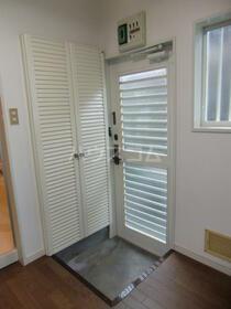 佐藤アパート 202号室の玄関