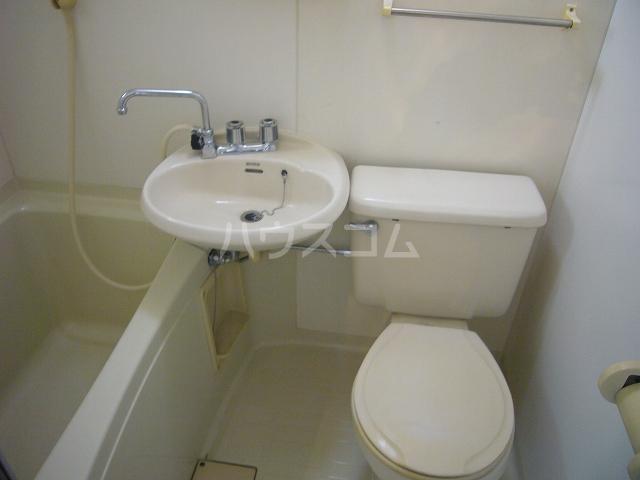 ラ・メゾンK 101号室のトイレ