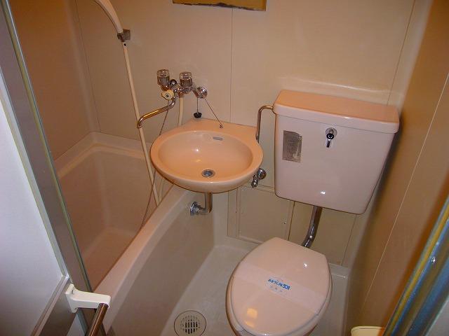 大津シーサイドパレス 109号室の風呂