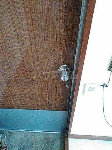 久末アパート 201号室のセキュリティ