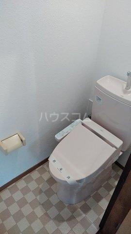 第一岡庭ハイツのトイレ