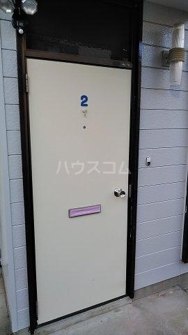 第一岡庭ハイツの玄関