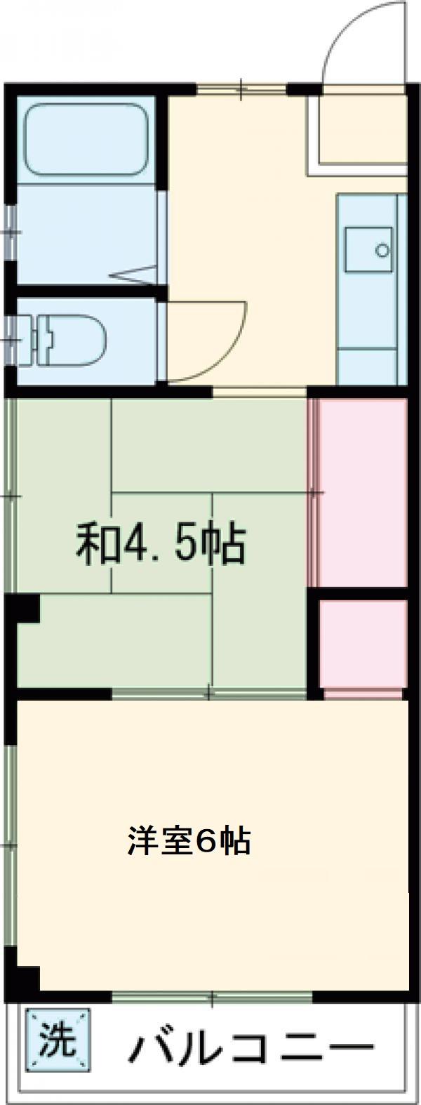 ヨシノハイツ・301号室の間取り