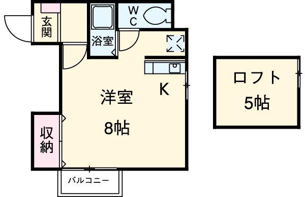 MSSビル・302号室の間取り