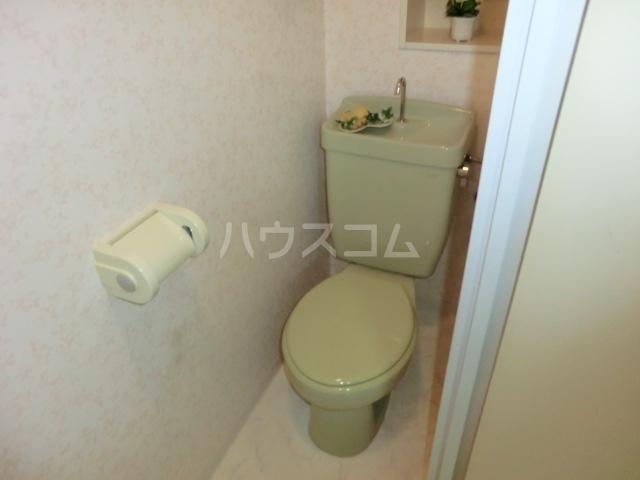MSSビル 302号室のトイレ
