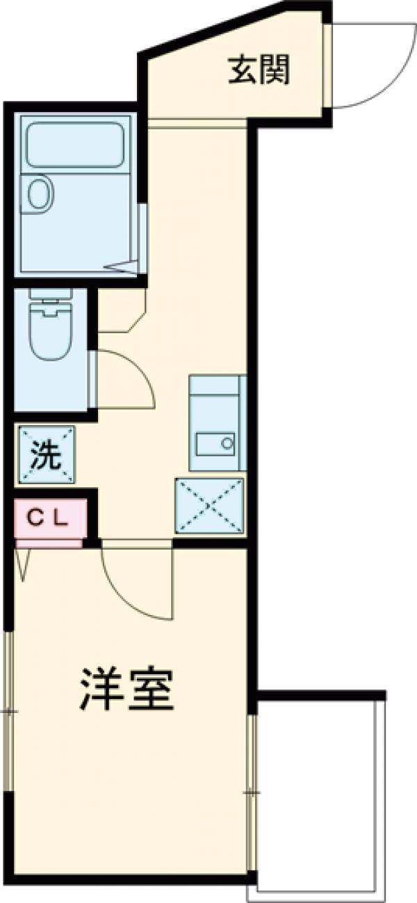 コート・ダ・金町・303号室の間取り