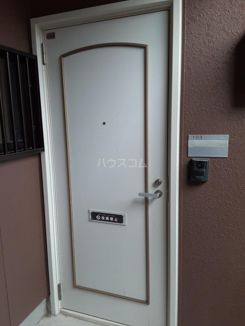 シャンボール今伊勢A 103号室のベッドルーム