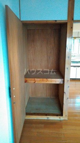 一鳩マンション 405号室の収納