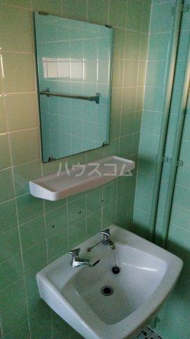 一鳩マンション 405号室の洗面所