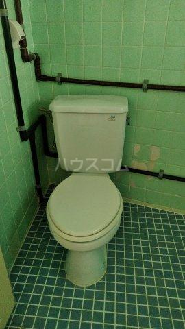 一鳩マンション 405号室のトイレ