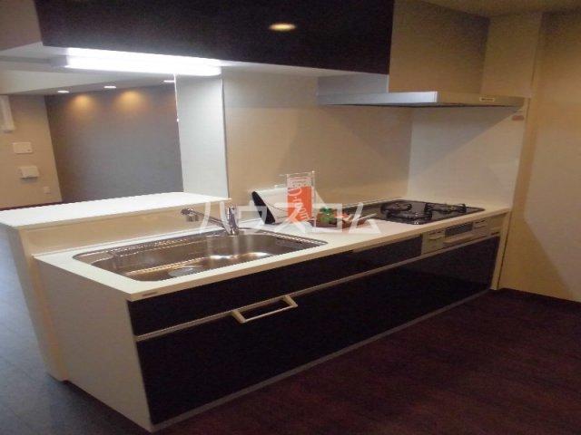 メゾン・デュ・パーク新都心 202号室のキッチン
