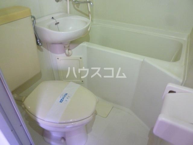 ラ・カシータ久が原 105号室のトイレ