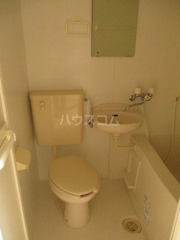 龍ハイツ 723号室のトイレ
