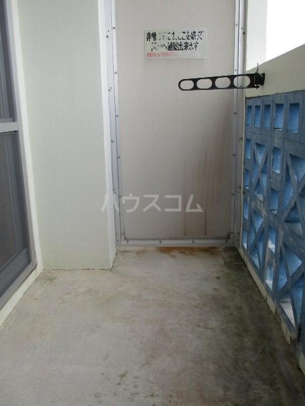 龍ハイツ 723号室のバルコニー