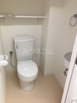 コーラルオリオン 602号室のトイレ