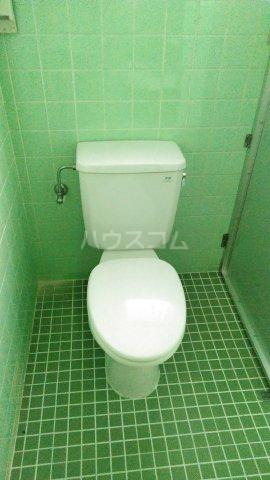 一鳩マンション 205号室のトイレ
