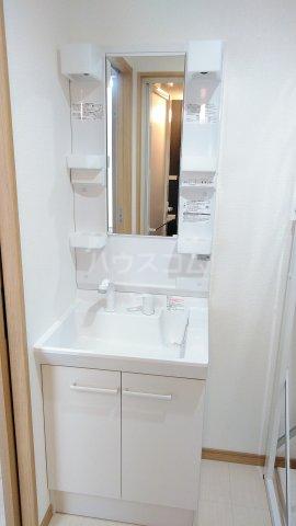 Meith GUSHI 402号室の洗面所