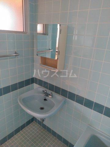 プラスパー上原 3-C号室の洗面所