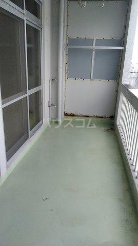 大漁マンション 405号室のバルコニー
