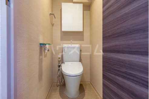 La mer 久茂地 601号室のトイレ