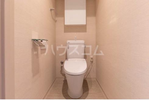 La mer 久茂地 603号室のトイレ