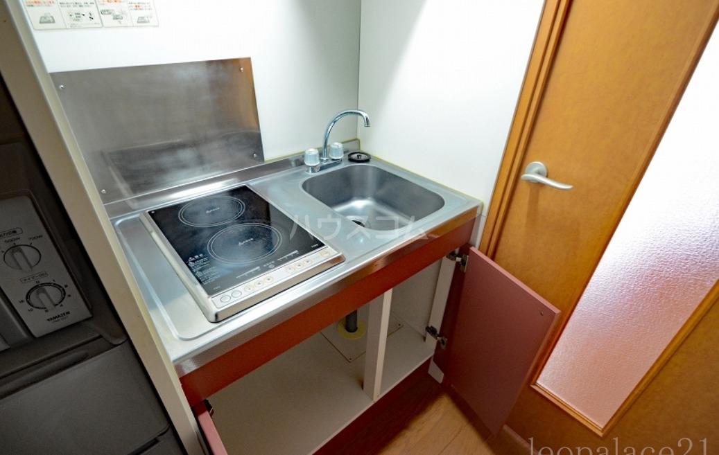 レオパレス浜柳 206号室のキッチン