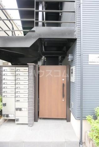 メゾン・ド・ソレイユ蒲田 104号室のエントランス