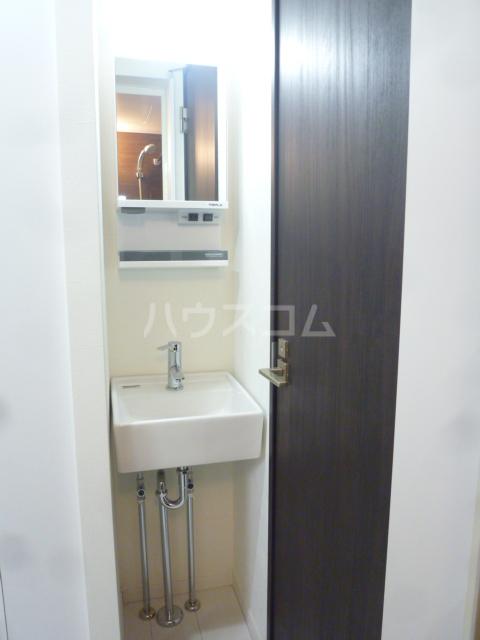メゾン・ド・ソレイユ蒲田 104号室の洗面所