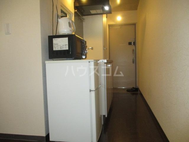 アーバネージュ西蒲田 202号室の玄関