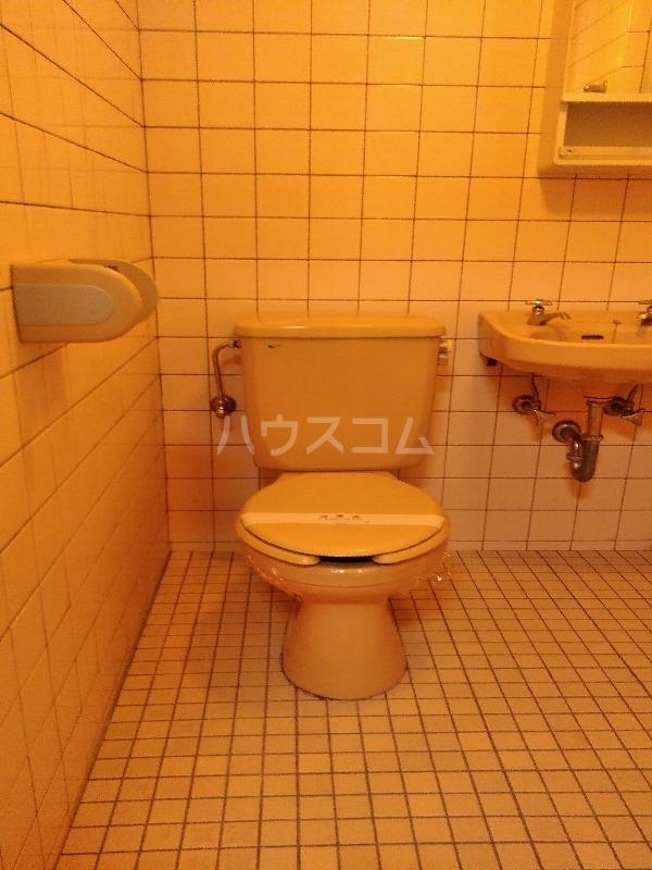 カーサ島乃 2-C号室のトイレ