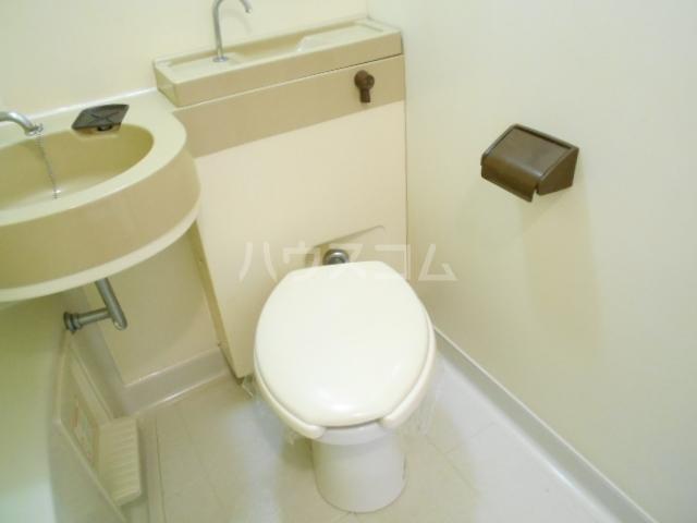 ロマネスク渡辺通第2 209号室のトイレ