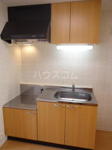 M-WING Ⅱ 201号室のキッチン