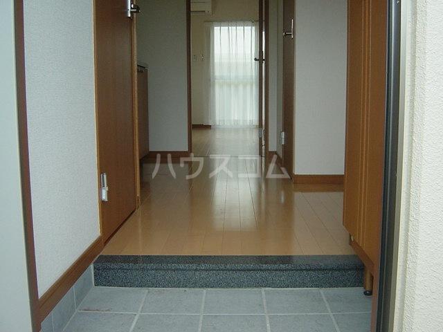 M-WING Ⅱ 201号室の玄関