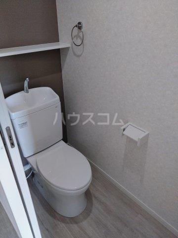 クレアドールⅢ 409号室のトイレ