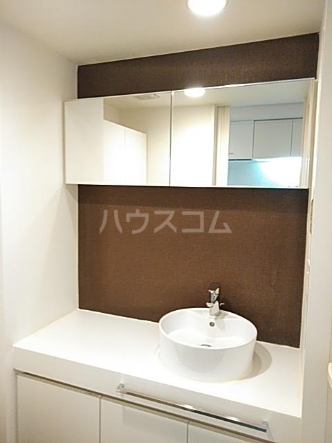 パークフラッツ中目黒 306号室の洗面所
