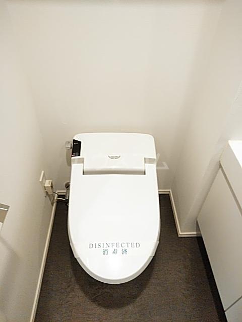 パークフラッツ中目黒 306号室のトイレ