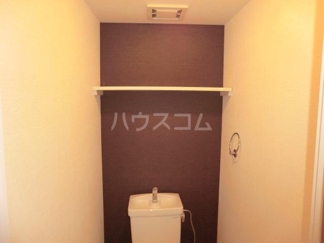 グローリ大島 206号室のトイレ