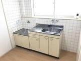 コーポラス管石 106号室のキッチン
